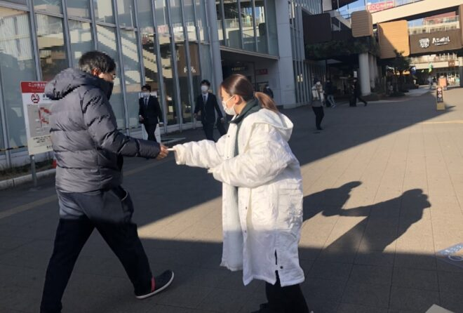 街頭サンプリング②