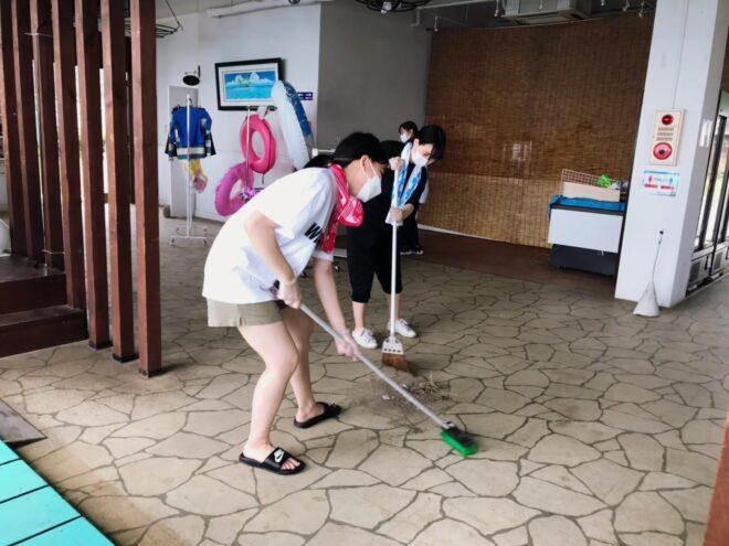 HiBlue大掃除!!